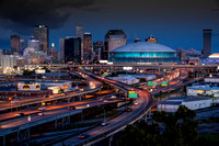 New Orleans Skyline and Superdome