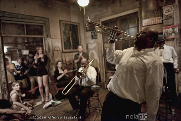 Treme Brass Band at Preservation Hall